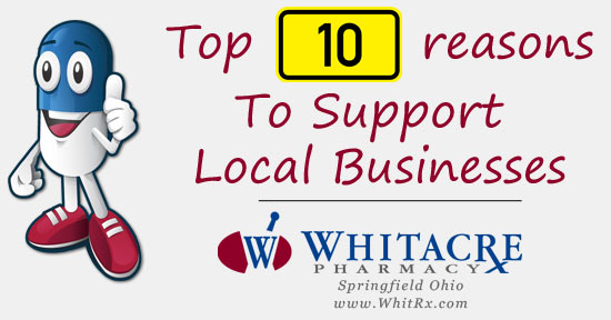 Top ten reasons why we should all support local businesses
