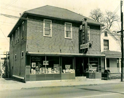 Old Whitacre Pharmacy Store in Springfield Ohio