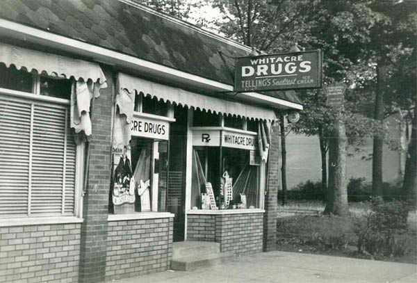 Old Whitacre Pharmacy Store